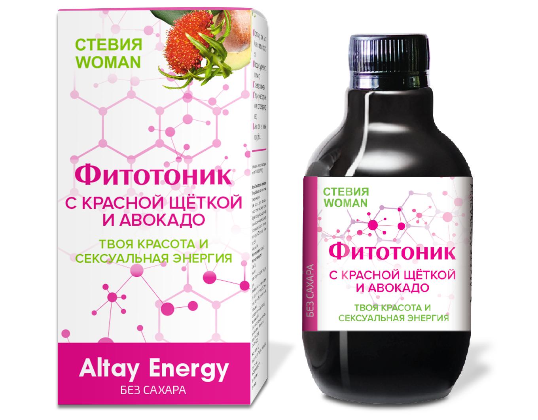 Растительный сироп «Фитотоник Стевия Woman »